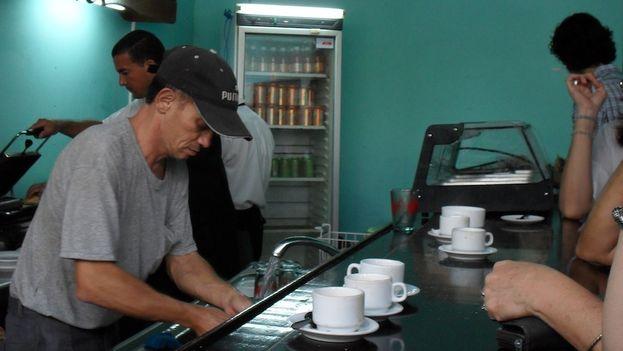 Venta de café. (14ymedio)