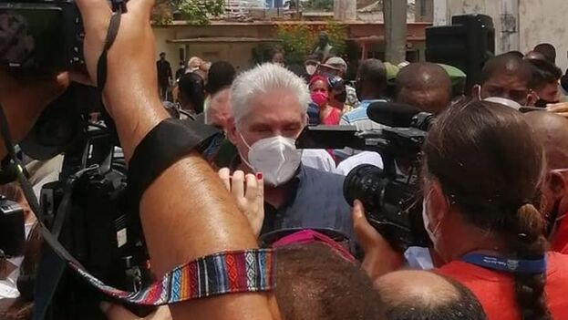 """""""Estaremos en las calles combatiendo"""", amenazó el dirigente. (Facebook)"""