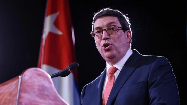 El canciller cubano, Bruno Rodríguez.( EFE/Alejandro Ernesto/Archivo)