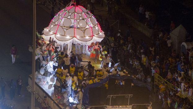Festejos del carnaval habanero