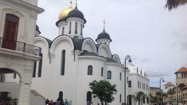 La catedral ortodoxa en La Habana. (14ymedio)