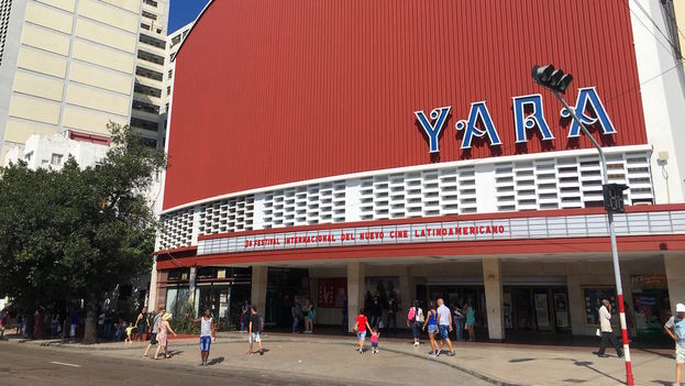 El cine Yara, en La Habana. (14ymedio)