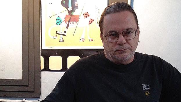 El cineasta cubano Eduardo del Llano. (14ymedio)