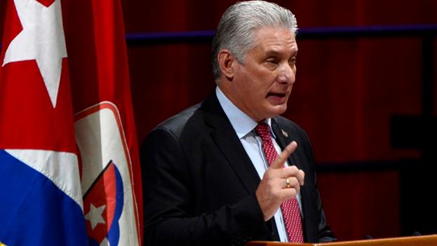 """""""El imperio se empeña en asfixiar al pueblo cubano"""", escribió el gobernante cubano en Twitter. (EFE/ACN/ Ariel Ley Royero/Archivo)"""