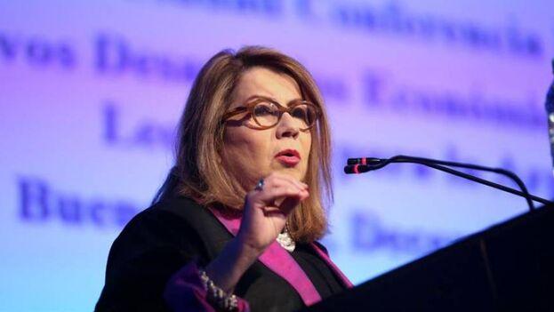 La cubanoamericana Carmen Reinhart es experta en crisis financieras. (EFE)