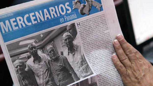 """La delegación oficial cubana en Panamá alerta de la presencia de """"mercenarios"""". (14ymedio)"""