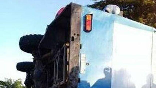 Se desconocen por el momento las causas exactas del accidente. (Facebook)
