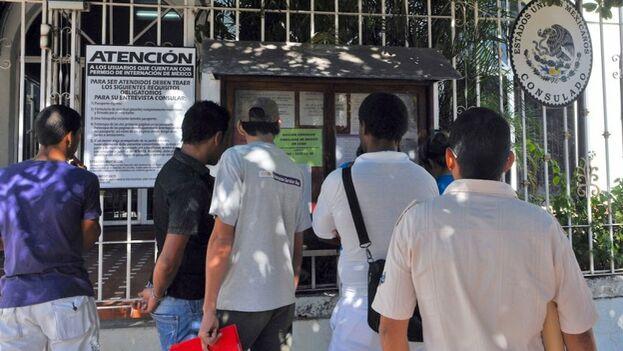 La embajada mexicana aún no ha estrenado la página web de cita previa, aunque ya ha explicado su futuro mecanismo.