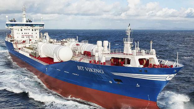 Una embarcación de la firma mexicana Corporativo Enciso.