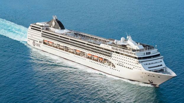 La capital cubana será el punto de embarque del navío para su temporada invernal en el Caribe. (MSC)