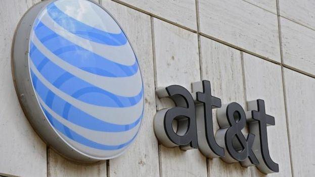 La empresa estadounidense de telecomunicaciones AT&T. (EFE)