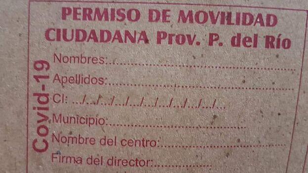 Si se encuentra a alguien fuera de casa y no dispone de la credencial se le podrá sancionar con el decreto 31. (Daguito Valdés)