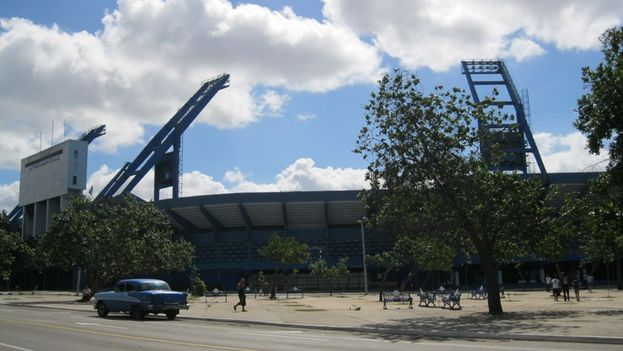 El Estadio Latinoamericano de La Habana. (14ymedio)