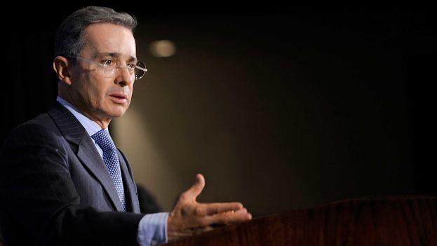 El expresidente de Colombia, Álvaro Uribe. (EFE)