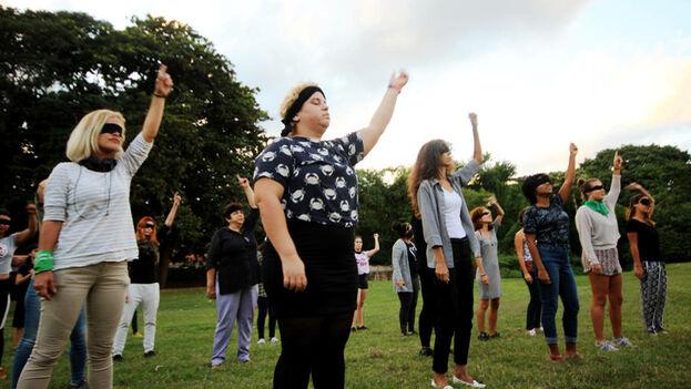 El himno feminista 'El violador eres tú' se ha extendido a varios países de América Latina y también ha cruzado el Atlántico. (Captura)