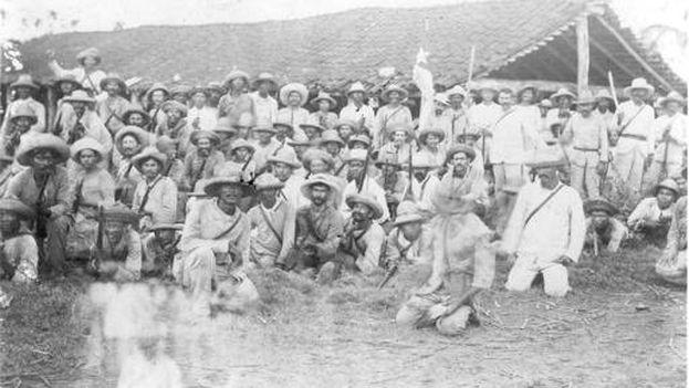 Más de 8.000 extremeños, entre soldados de reemplazo y voluntarios, participaron en la guerra de 1895. (Biblioteca del Congreso)