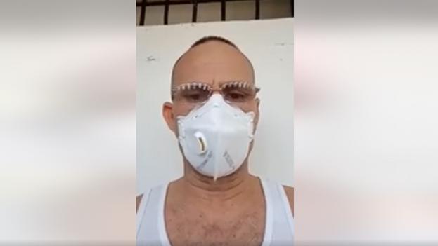La breve grabación se publicó en la página de Facebook de Guerrero Cubano, un vocero anónimo del régimen. (Captura)