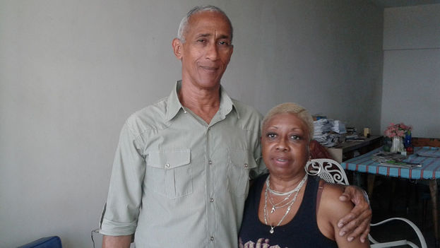 Hildebrando Chaviano y su esposa, Susana Mas. (14ymedio)