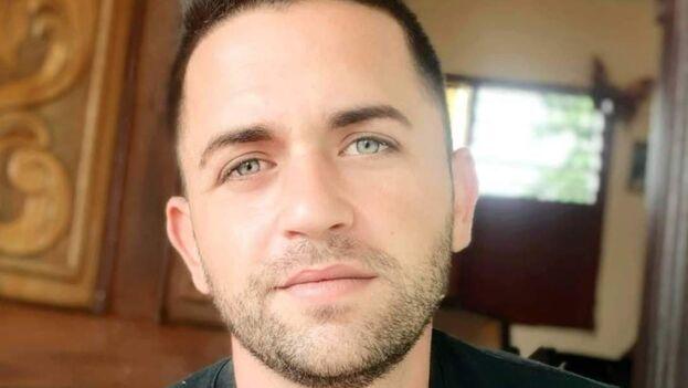 El holguinero Rolando Arias Peñas tiene 26 años. (Cortesía)