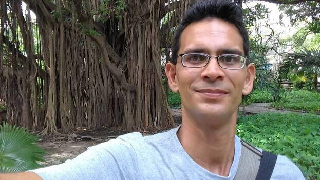 El reportero independiente, Ricardo Fernández Izaguirre, fue nuevamente detenido este martes. (14ymedio)