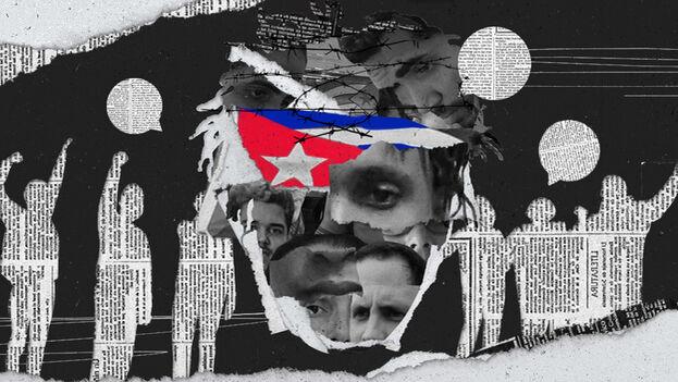 """Un grupo de organizaciones, medios independientes y activistas hicieron un """"llamado urgente para preservar la vida de los huelguistas concentrados en la sede del Movimiento San Isidro"""". (Cortesía)"""