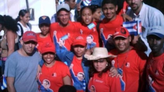 La mayoría de los instruidos en esas escuelas se caracterizan por su lealtad al chavismo y una proyección pública basada en la repetición de consignas oficiales. (Captura)