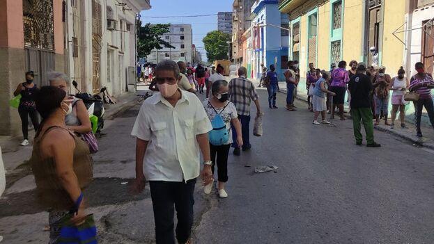 En la capital cubana comenzó el miércoles un estudio masivo de intervención sanitaria con dos de los cinco candidatos vacunales más avanzados que desarrolla Cuba. (14ymedio)
