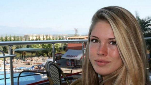 La joven holandesa de 19 años, Anouk van Luijk. (Facebook)