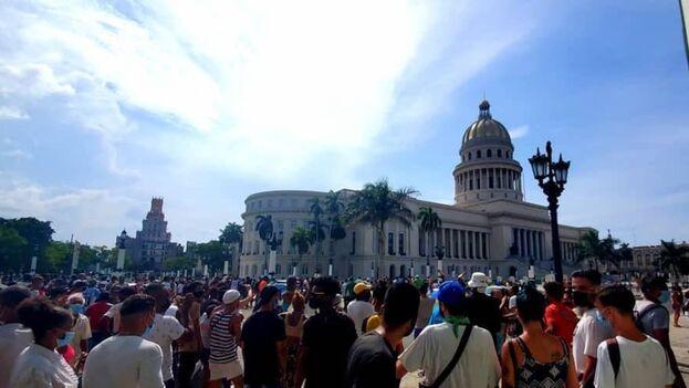 Son muy jóvenes, casi niños, los que han encabezado las manifestaciones que han puesto al descubierto ante el mundo el horror que vive Cuba. (14ymedio)