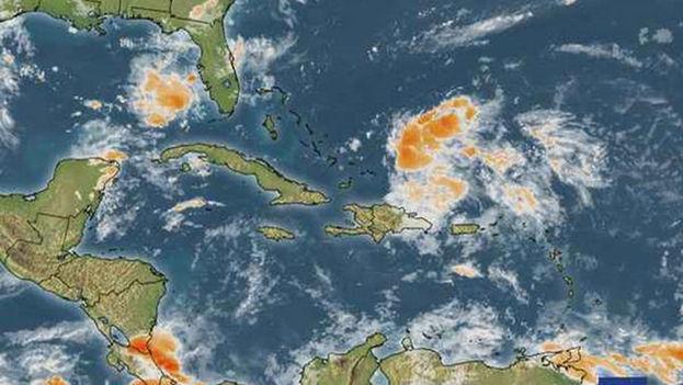 Con vientos de 65 kilómetros por hora, Erika ha dejado fuertes lluvias en Haití y la República Dominicana