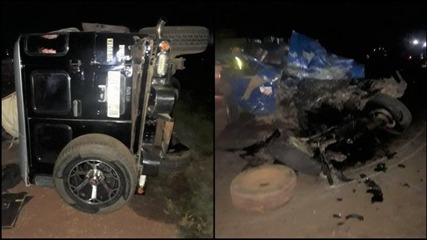 El siniestro ocurrió a cuatro kilómetros del municipio holguinero de Moa. (Collage)