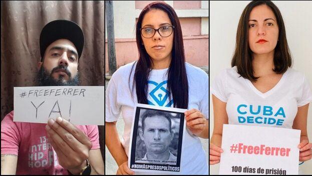"""La campaña """"100 días 100 voces"""" fue lanzada por la plataforma Cuba Decide. (Collage)"""