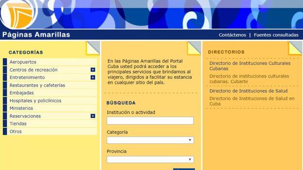 El lanzamiento oficial del nuevo portal este martes corrió a cargo de la Empresa de Telecomunicaciones de Cuba. (Captura)