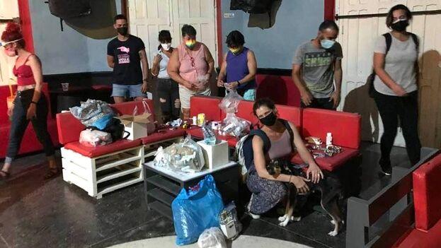 Una parte de los medicamentos e insumos médicos recogidos a través de estas campañas ha llegado a Matanzas esta semana. (Facebook)