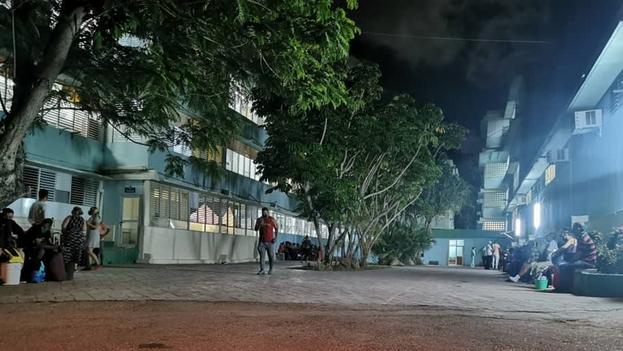 La escuela de medicina de Cojímar fue habilitada como centro de aislamiento para enfermos de covid. (14ymedio)