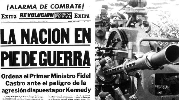 La crisis de los misiles referida en la prensa oficial cubana