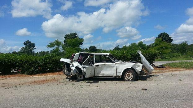 Los accidentes de tránsito son la quinta causa de mortalidad en Cuba. (Mario Félix Lleonart)