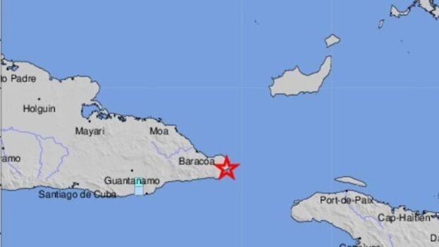 Todos los municipios de la provincia de Guantánamo y el de Moa, de su vecina Holguín, sintieron el temblor este miércoles.