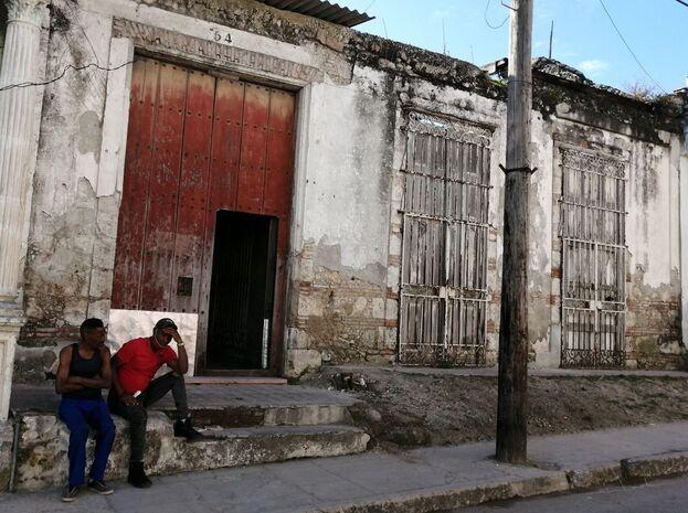 En el número 54 de la calle Maceo, en Guanabacoa, se ubica la iglesia ortodoxa. (14ymedio)