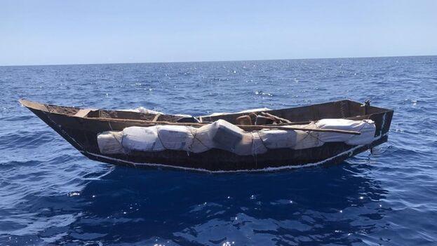 Desde el 1 de octubre de 2020, la Guardia Costera ha interceptado a 813 cubanos frente a los 49 del pasado año. (USCG)