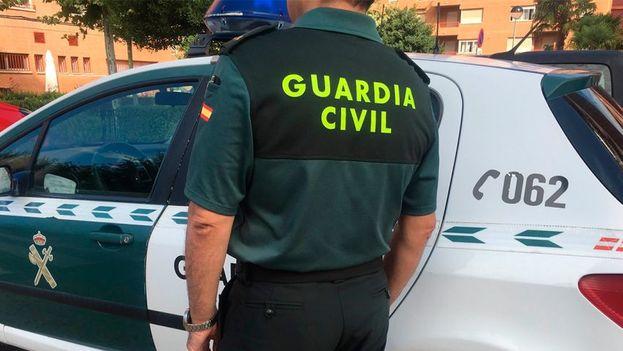 Un oficial de la Guardia Civil de España. (Twitter)