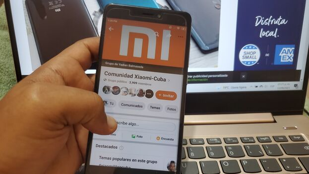 Según los datos ofrecidos en la página 'Statcounter', Xiaomi es la segunda marca de celulares con mayor presencia en Cuba. (14ymedio)