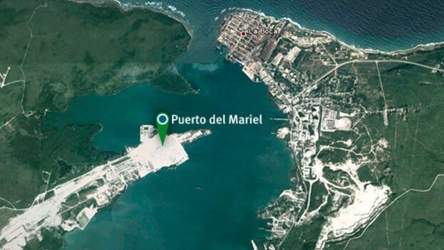 Los organizadores de la ayuda anunciaron su llegada al puerto de Mariel. (Captura)