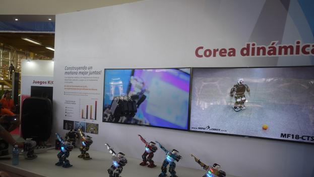No han sido los pabellones de empresas de Estados Unidos las más vistas en FIHAV... sino de Corea del Sur.