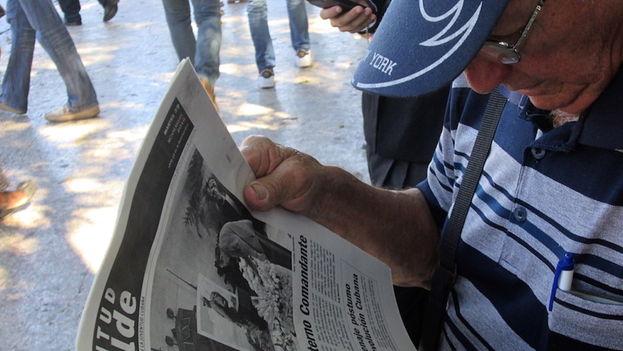 Periódico de la prensa oficial (14ymedio)