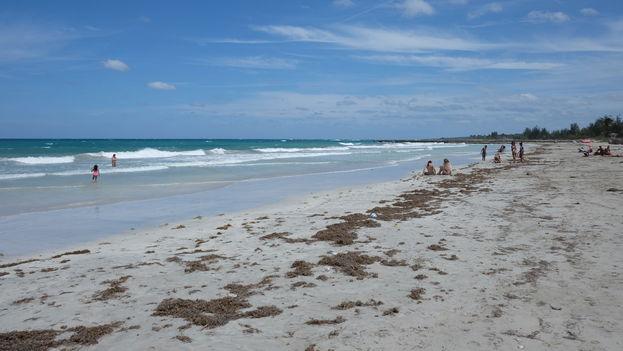 La playa de Guanabo al este de La Habana. (Cristina B.)