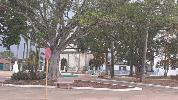 Con una población de 60.000 personas, Jagüey Grande contaba este viernes con 26 focos abiertos y 120 casos de covid activos. (Radio 26)