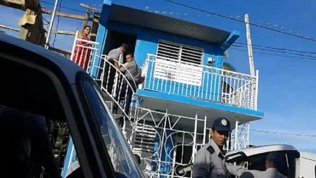 La policía allana una vivienda de miembros de Unpacu (@patriotaliud)