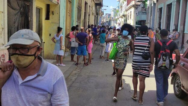 Ya suman 182.354 los positivos que se han detectado en el país desde que inició la pandemia en marzo del año pasado. (14ymedio)