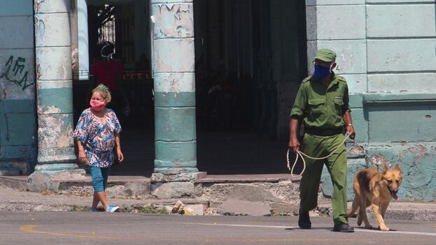 Es la primera vez desde que comenzó la pandemia que La Habana sufre medidas tan restrictivas. (14ymedio)